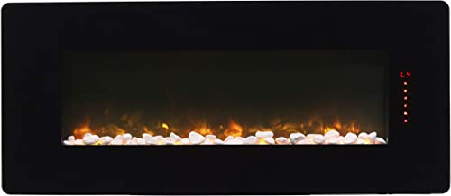 DIMPLEX Winslow Electric Fireplace, 42-INCH, Black