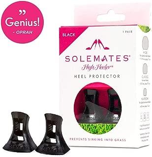 Solemates High Heel Protectors (Black, Classic)
