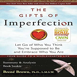 The Gifts of Imperfection by Brené Brown: Summary & Analysis audiobook cover art