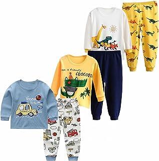 XM-Amigo Ropa interior térmica para bebé, juego de 3 piezas, ropa interior térmica para invierno, ropa interior térmica