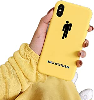 Billie Eilish Logo Phone Case for iPhone Soft Silicone Cover 20144 for iPhone 8