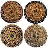 11' Paper Plate Holder - Sturdy Handcrafted Nito (Set of 6)