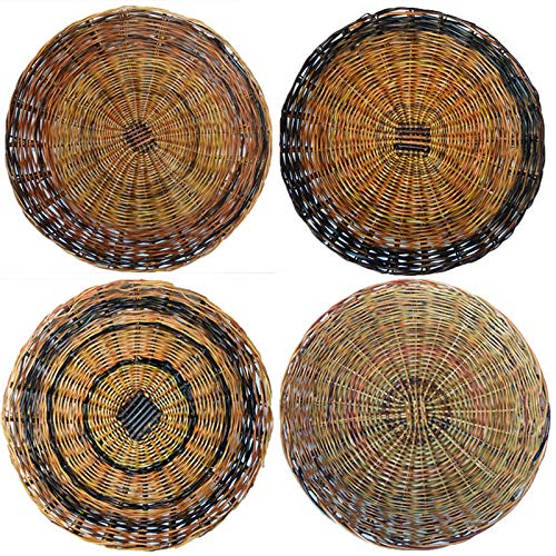 Paper Plate Holder - Sturdy Handcrafted Nito (Set of 6)