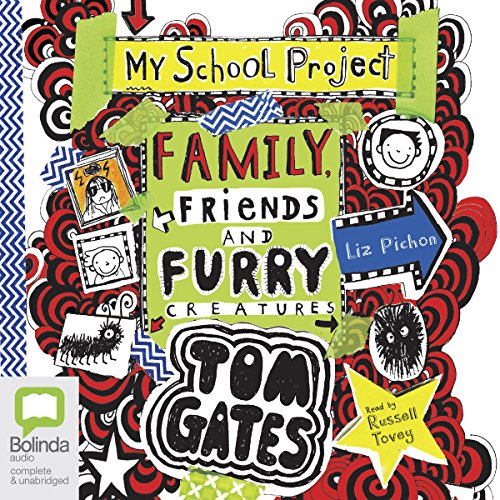 Family, Friends and Furry Creatures audiobook cover art
