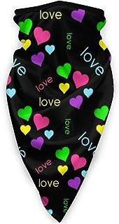 Love Mickey_ Minnie Windproof Sports Mask Outdoor Fashion Mask,Turban,Neck Brace,Wristband,Balaclava