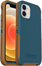 OtterBox Pursuit Series SCREENLESS Edition Case for iPhone 12 Mini (Only) -Non-Retail Packaging - Autumn Lake (Blue/Brown)