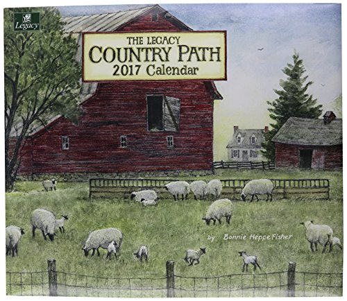 Legacy Publishing Group 2017 12-Month Wall Calendar, Country Path (WCA29947)
