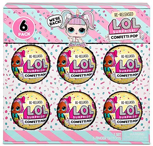 LOL Surprise 6-Pack Confetti- Unicorn