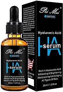Hyaluronic acid Facial serum hydrating whitening brightening anti ageing Essence 30ml