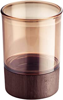 InterDesign Formbu Liquid Soap & Lotion Dispenser Pump for Kitchen or Bathroom Countertops, Tumbler