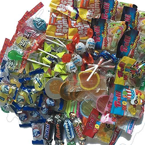 100-delige snoepjes-mix, als cadeautje voor kinderverjaardag of het vullen van een pinata of schooltasje, nr. 1 van Carpeta®, carnaval, eerste schooldag Martin Luther zingen.