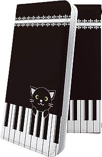GALAXY Note Edge SCL24 ケース 手帳型 キャラクター キャラ キャラケース ピアノ ギャラクシーノートエッジ 女の子 女子 女性 レディース galaxynote scl 24 ねこ 猫 猫柄 にゃー 10947-wejg...
