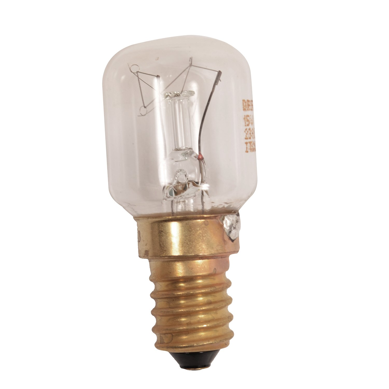 2 x American Style T Click 40W 240V Fridge Freezer Bulb Lamp