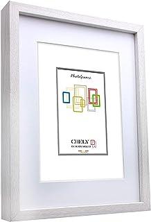 comprar comparacion Chely Intermarket, Marco de Fotos 40x50cm (Medida Interior con paspartú 30x40cm) MOD-351 (Blanco) | El Marco Queda al Nive...