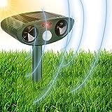 Best Ultrasonic Pest Repeller Birds - Pilmoux Bird Scarer Cat Repellent for Garden Ultrasonic Review