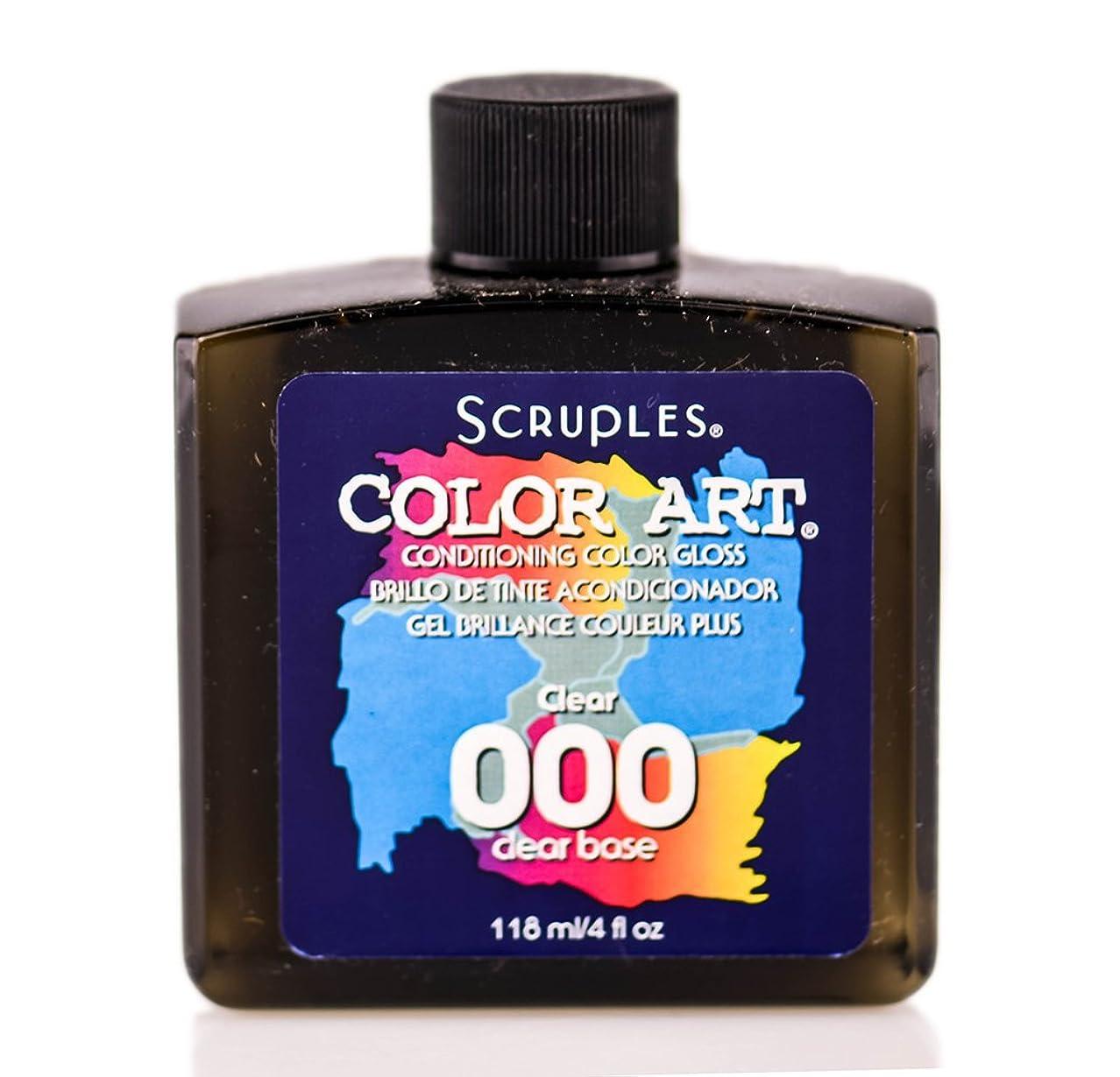 対処散歩合法Scruples カラーアートコンディショニングカラーグロス(000クリア)