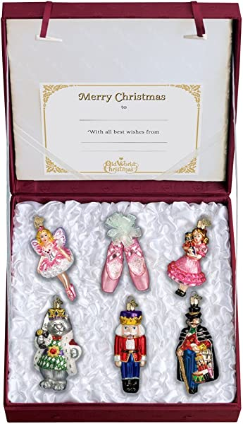 Old World Christmas Ornaments Nutcracker Suite Collection Glass Blown Ornaments For Christmas Tree