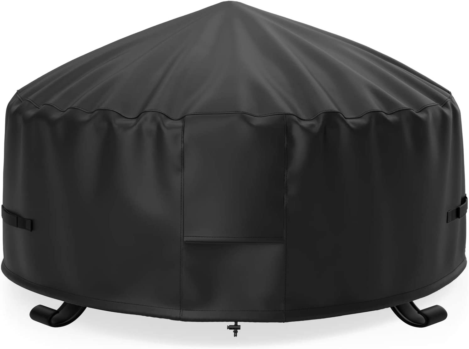 NUPICK 32 Inch Round Fire Pit Cover Landmann Max 50% OFF H Weekly update Sky 600D Big for