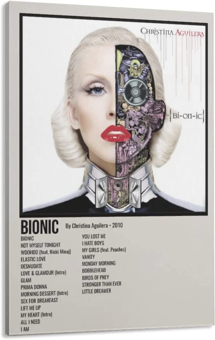 Bionic Christina Aguilera 2010 Canvas Poster Prin Art Our shop OFFers the best service Decor Wall Trust
