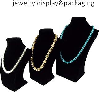 Présentoirs Cuisine & Maison iodvfs Mode Bijoux Boucles D'Oreilles Bague Bracelet Collier Bijoux Acrylique Tournant Bijoux Rack Noir