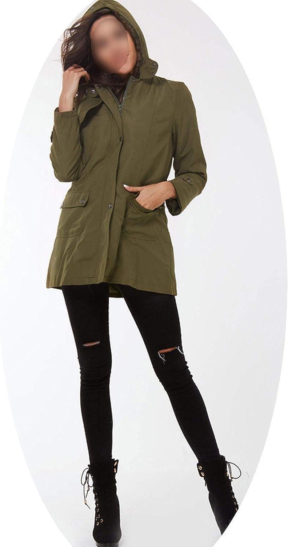 EnjoySexy Women Winter Jacket 2018 Casual Ladies Basic Coat Jacket Warm Long Sleeve Women Parkas