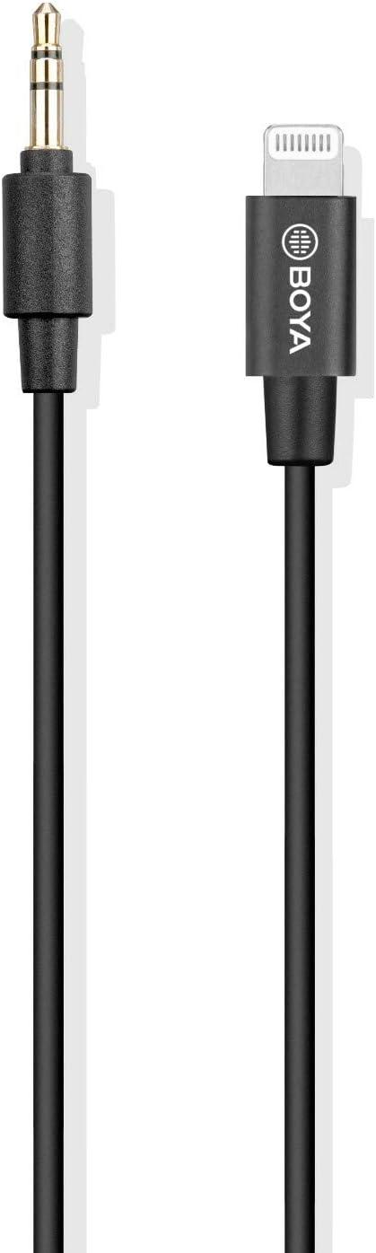 BOYA by-M2 Clip-on Lavalier Microphone MFi P Certified Popular standard Lightning Chicago Mall