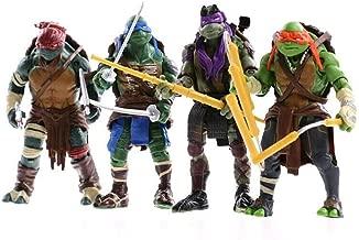 BRANSALES TMNT Teenage Mutant Ninja Turtles Action Figures (TMNT Figure 02)
