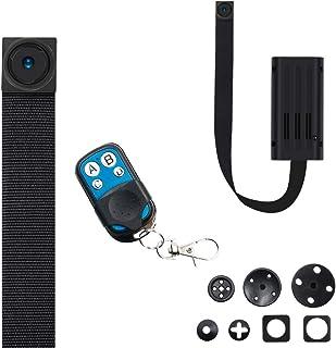 小型カメラ隠しカメラ 超小型カメラ T186進化版 隠しカメラ 5時間録画 リモコン付き 1080P画質 スパイカメラ 動体検知 日時セット防犯用 証拠撮影 屋外/屋内用 携帯便利 日本語取扱書付きT186II