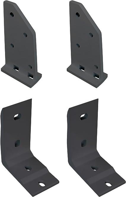 empasa Deckenhalterung und Dachsparrenhalter Halterung Befestigung f/ür unsere Gelenkarmmarkise Start und Start Plus