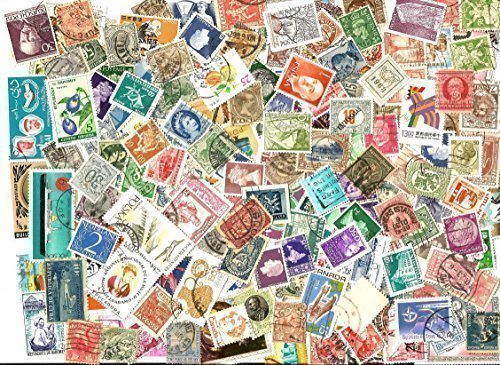 75 OLD WORLD COLLECTIBLE POSTAGE STAMP ASSORTED MIX LOT WITH FREE STAMPS