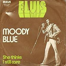 moody blue 45 rpm single