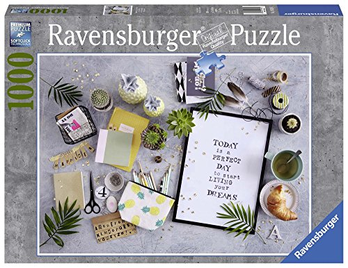 Ravensburger Puzzle 19829 - Start living your dream - 1000 Teile