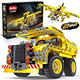 STEM Toy Building Toys Gifts for Age 6, 7, 8, 9, 10, 11, 12 Years Old Kids, Boys, Girl - 2-in-1...
