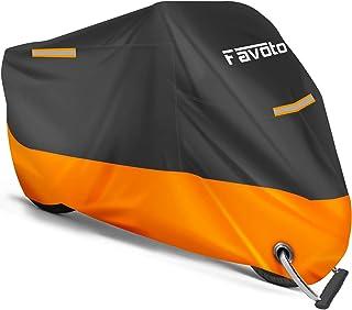 Favoto Funda para Moto Cubierta de la Moto 210D Impermeable