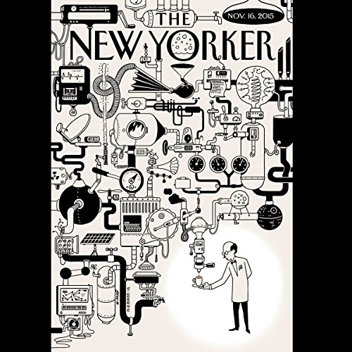 The New Yorker, November 16th 2015 (Michael Specter, John Seabrook, Judith Thurman) audiobook cover art