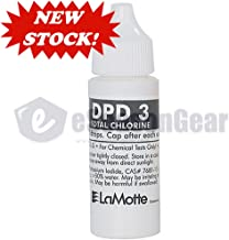 LaMotte New Fresh P-6743-G DPD 3 Liquid Reagent for Total Chlorine, 30 ml, exp Date Listed