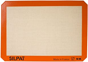 Silpat Premium Non-Stick Silicone Baking Mat, Half Sheet Size, 11-5/8