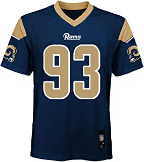 Outerstuff Ndamukong Suh Los Angeles Rams NFL Youth 8-20 Navy Home Mid-Tier Jersey
