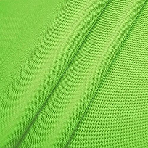 Polyester Oxford 600D 1lfm - Wasserdicht, Outdoor Stoff, Segeltuch, Abdeckplane (Hellgrün)