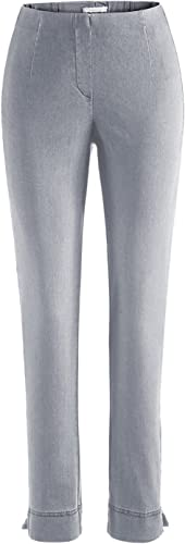 Stehmann INA-760W, Indigo, Bequeme Jeans in Superstretchmaterial