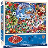 MasterPieces Holiday Glitter 500 Puzzles Collection - Snow Globe Dreams 500 Piece Jigsaw Puzzle