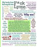 F*ck Lyme Journal: A Blank Lyme Disease Awareness, Lyme Warrior Writing Notebook (Inspirational Lyme Journals) (Volume 2)
