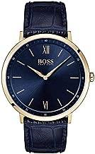 mens gold hugo boss watch