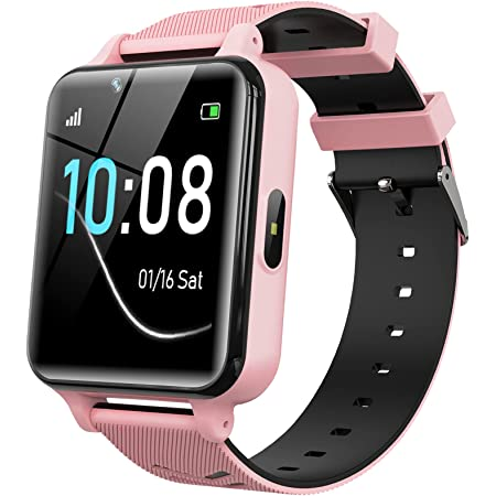 Kids Smartwatch for Boys Girls - Smart Watch for Kids Watches for 4-12 Years with 17 Puzzle Games Alarm Music Player Camera Calculator Calendar Children Toys Birthday Gifts
