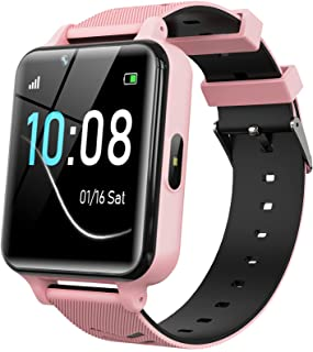 Kids Smartwatch for Boys Girls - Kids Smart Watch Phone Touch Screen with Games Alarm Music Player Camera SOS Calculator C...
