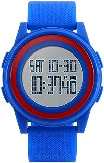 Niome Boy Girl Wristwatch Waterproof Digital Sport Student Casual Classic Resin Band Watch