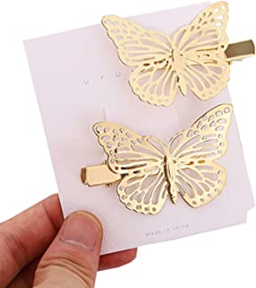 Hairpin Sequin Butterfly Hairpin Lovely Metal Snap Hair Pins Multiple Style Little Hairpin Hair Accessories Baby Girls Hai...