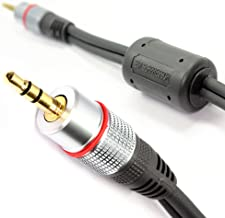 kenable Ultra Pure OFC 3.5mm Stereo Jack to Jack Audio Cable 5m (~16.5 feet)