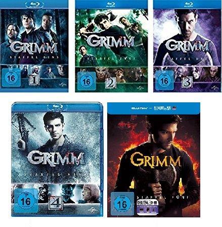 Grimm - Staffel 1-5 im Set - Deutsche Originalware [25 Blu-rays]