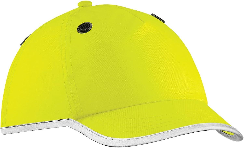 Beechfield Unisex Adults Enhanced-Viz Bump Cap